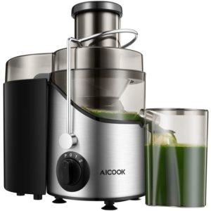 Juice Extractor with Non-Slip Feet and 3'' Wide Mouth by AICOOK