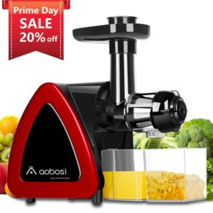 Slow Masticating Juicer Extractor by AAOBOSI