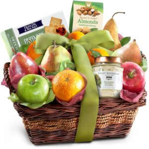 Classic Gourmet Fruit Basket Gift by Golden State Fruit
