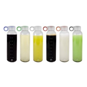 18oz Leak-Proof Juicing Containers by Pratico Kitchen